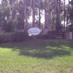 Entrance Sign The Village at Hidden Lake
