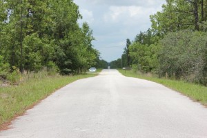Road in Front of Property