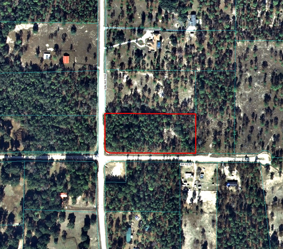 Acre Land For Sale In Dunnellon Florida  MyLandBaroncom - Florida map for sale