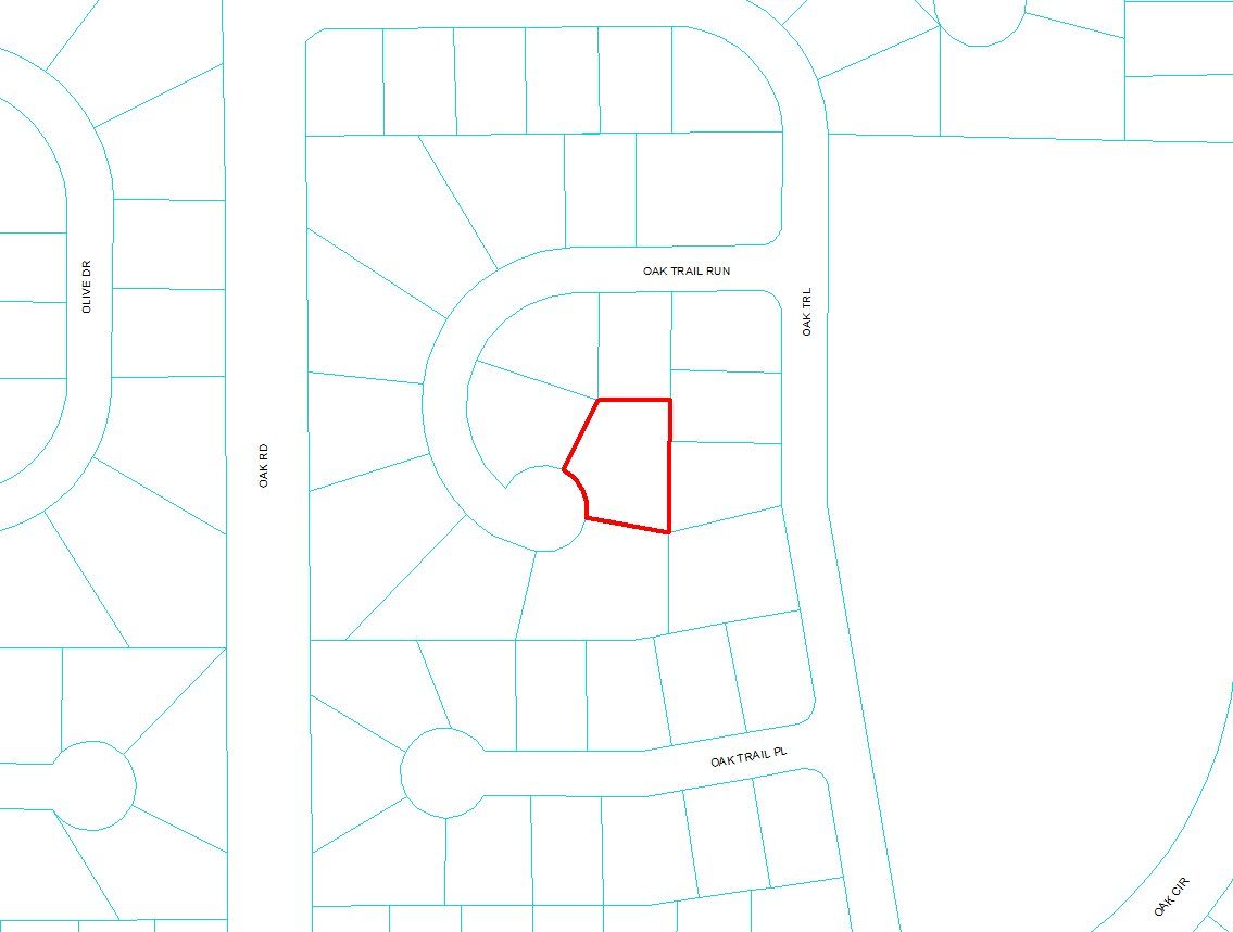 R9013-0152-17 PLOT Map Overview Cheap LOT