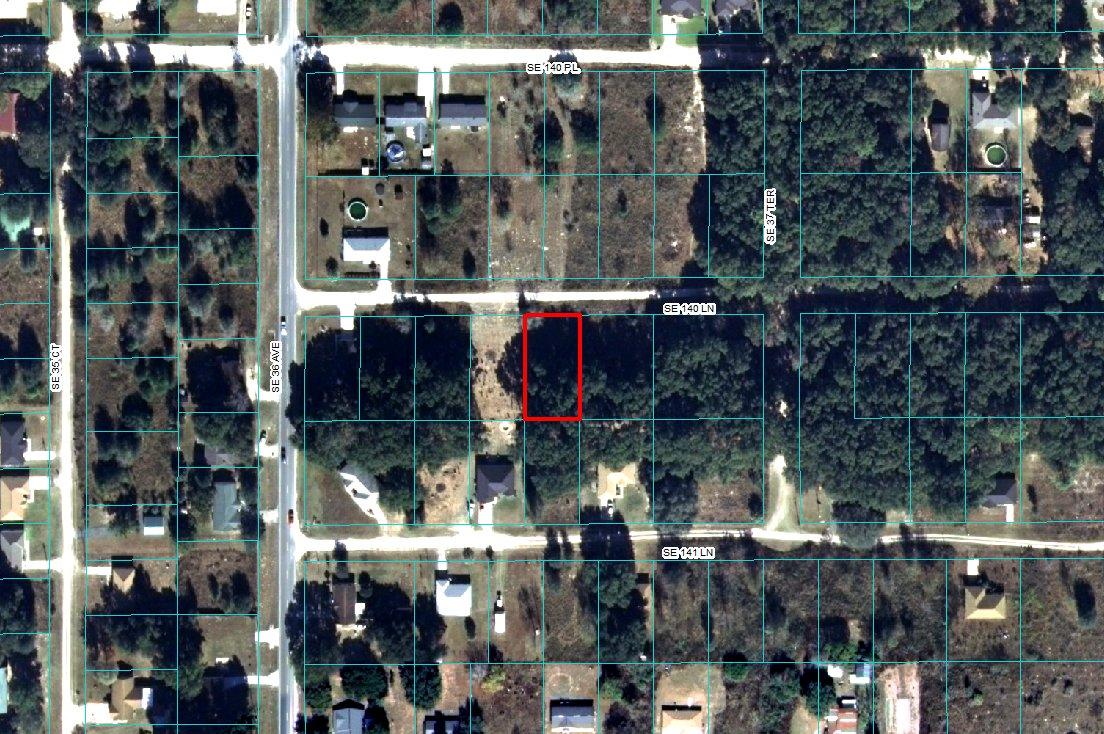 R4211-133-013 Plot Map Belleview Heights Estates
