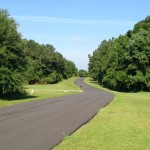 Drive to the 3.43 acres