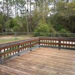 HUGE Deck in Front of House
