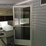 Side Entrance from Enclosed Porch