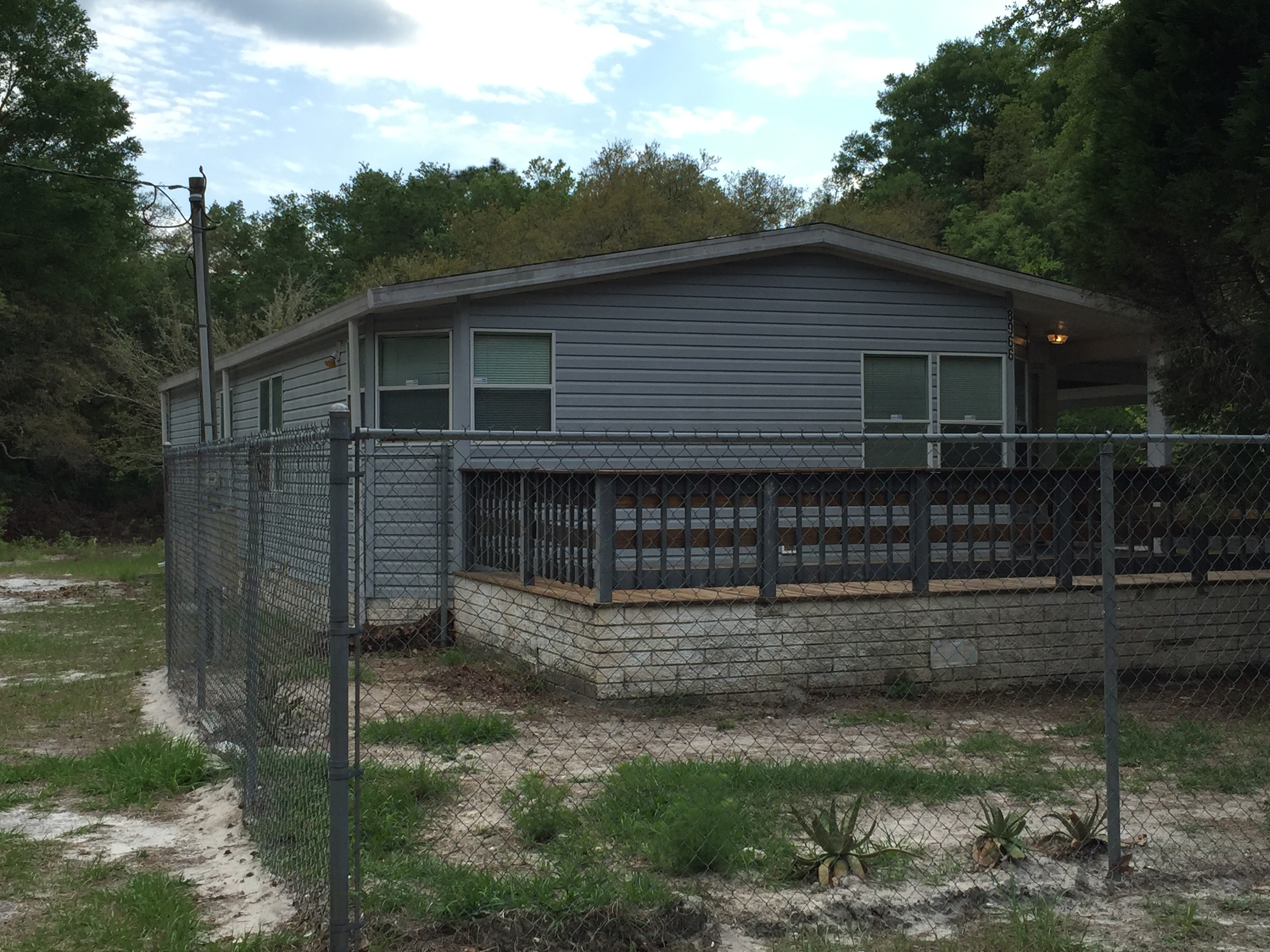1 25 Acres Double Wide Mobile 2 2 In Florida Highlands