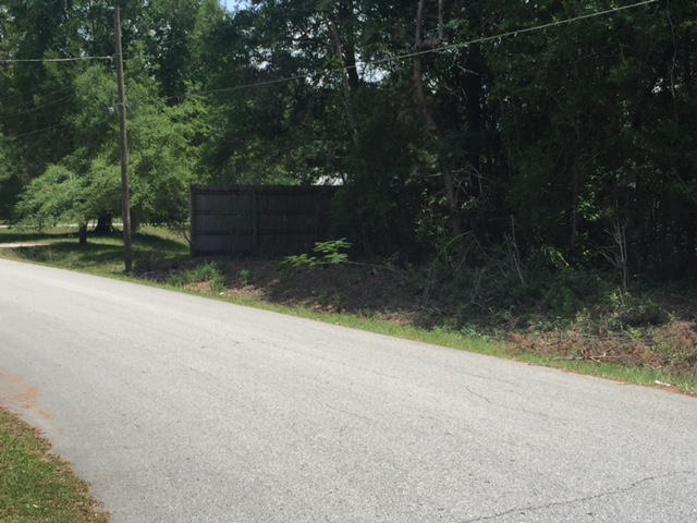 0.75 acres back of property